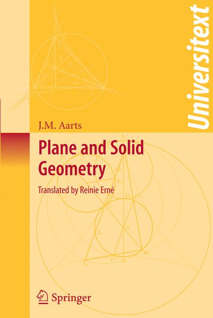 Cover of 'Plane and Solid Geometry'