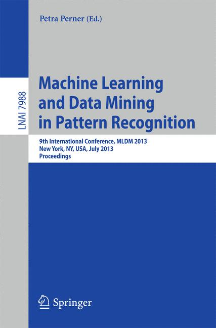 Cover of 'Machine Learning and Data Mining in Pattern Recognition'