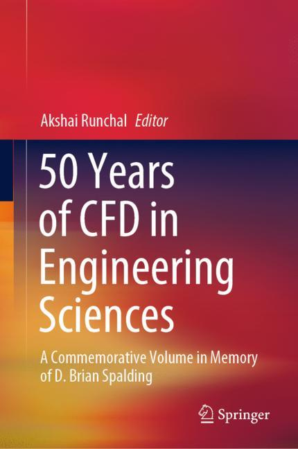 Cover of '50 Years of CFD in Engineering Sciences'