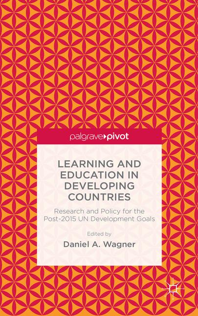 Cover of 'Learning and Education in Developing Countries'