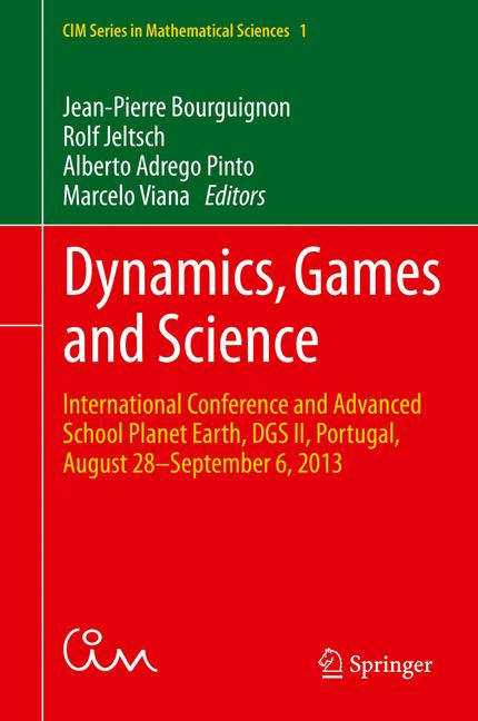 Cover of 'Dynamics, Games and Science'