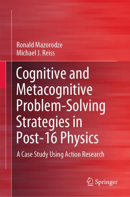 Cover of 'Cognitive and Metacognitive Problem-Solving Strategies in Post-16 Physics'