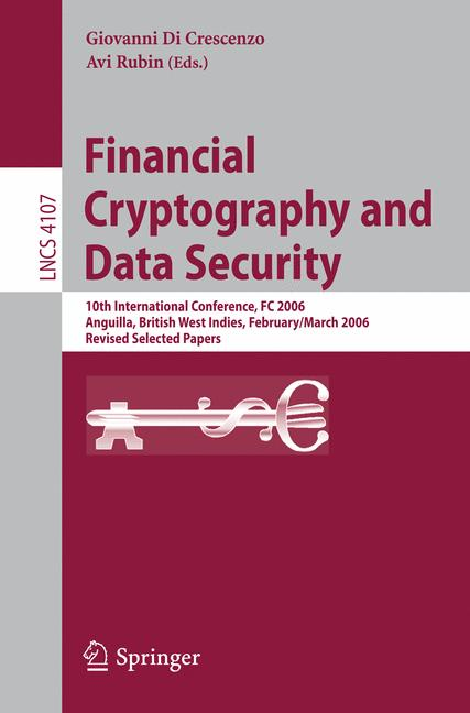 Cover of 'Financial Cryptography and Data Security'