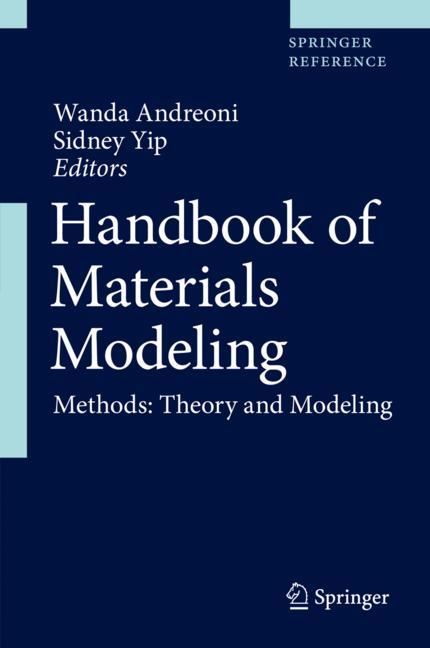 Cover of 'Handbook of Materials Modeling'