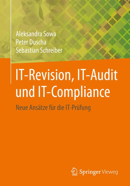 Cover of 'IT-Revision, IT-Audit und IT-Compliance'
