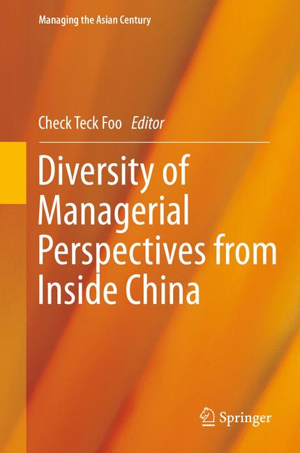 Cover of 'Diversity of Managerial Perspectives from Inside China'