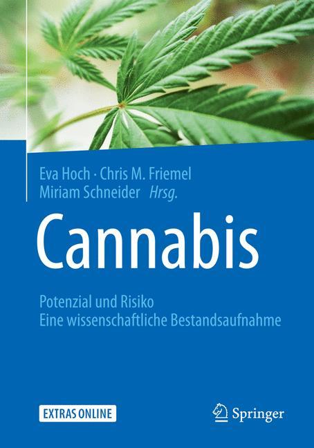 Cover of 'Cannabis: Potenzial und Risiko'