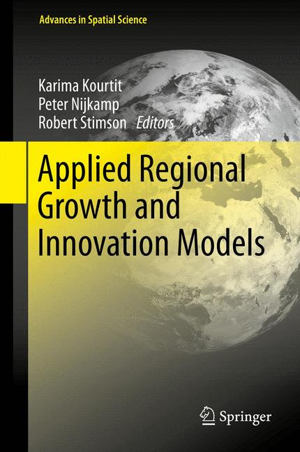 Cover of 'Applied Regional Growth and Innovation Models'