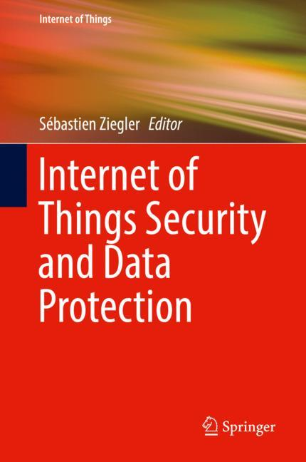 Cover of 'Internet of Things Security and Data Protection'