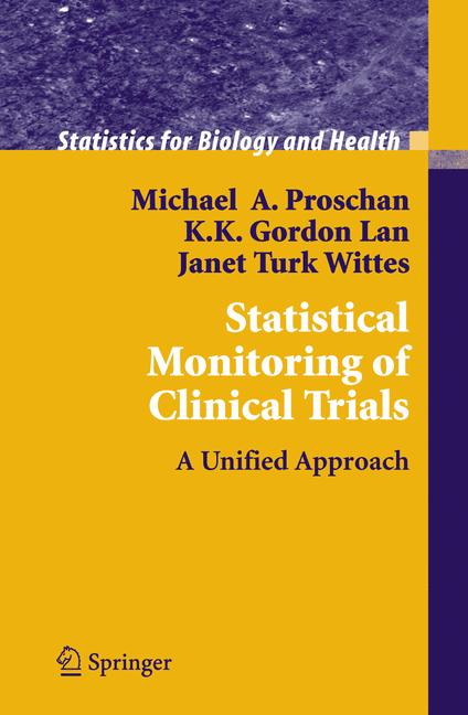 Cover of 'Statistical Monitoring of Clinical Trials'