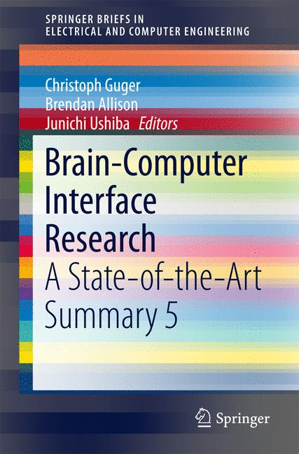 Cover of 'Brain-Computer Interface Research'