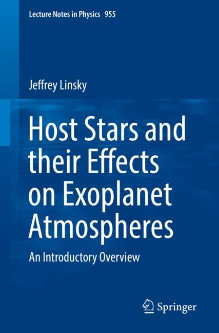 Cover of 'Host Stars and their Effects on Exoplanet Atmospheres'