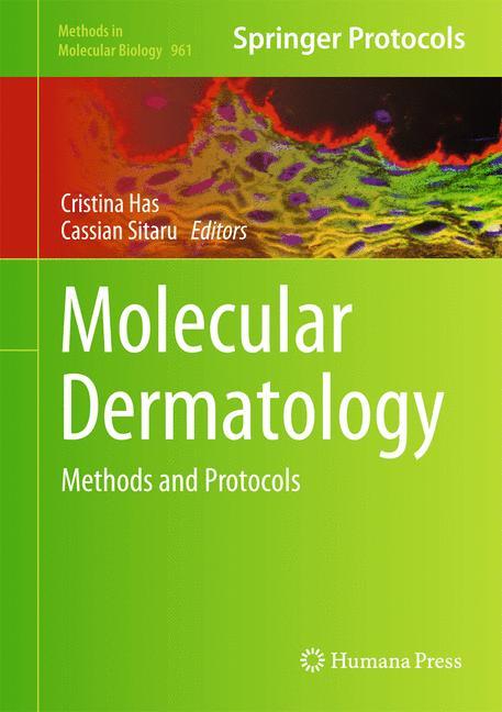 Cover of 'Molecular Dermatology'