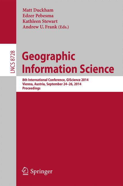 Cover of 'Geographic Information Science'