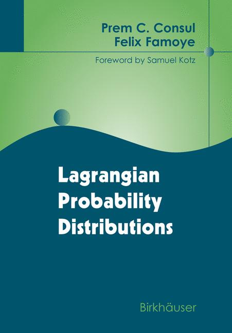 Cover of 'Lagrangian probability distributions'