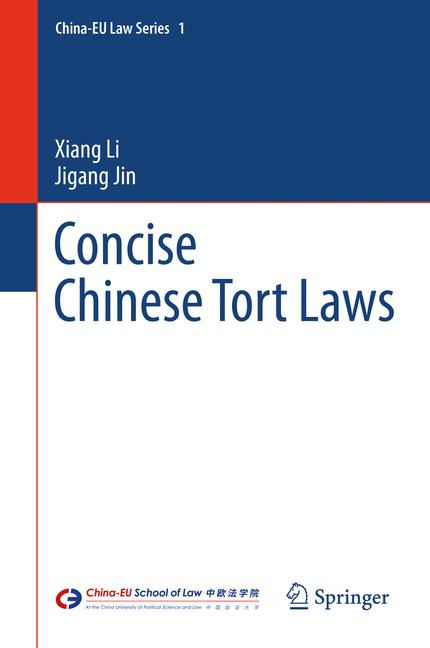 Cover of 'Concise Chinese Tort Laws'
