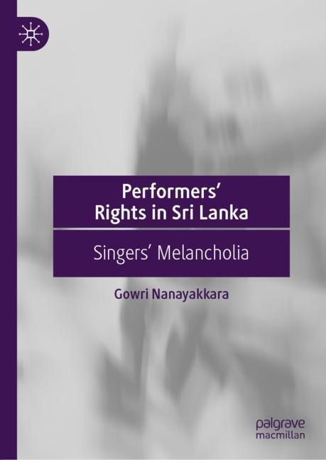 Cover of 'Performers' Rights in Sri Lanka'