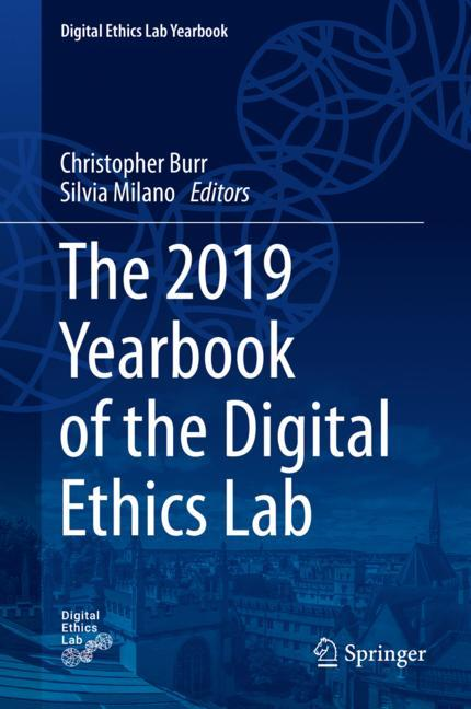 Cover of 'The 2019 Yearbook of the Digital Ethics Lab'