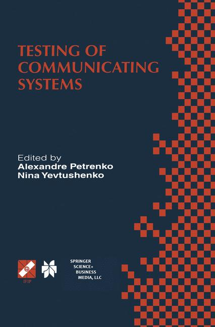 Cover of 'Testing of Communicating Systems'