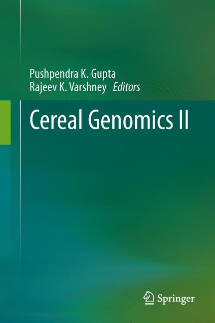 Cover of 'Cereal Genomics II'