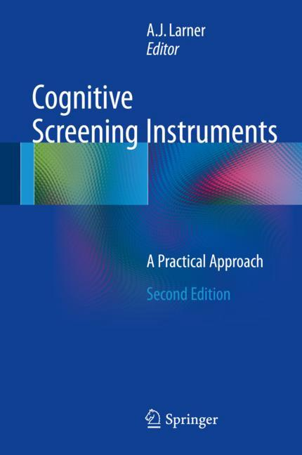 Cover of 'Cognitive Screening Instruments'