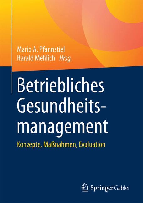 Cover of 'Betriebliches Gesundheitsmanagement'