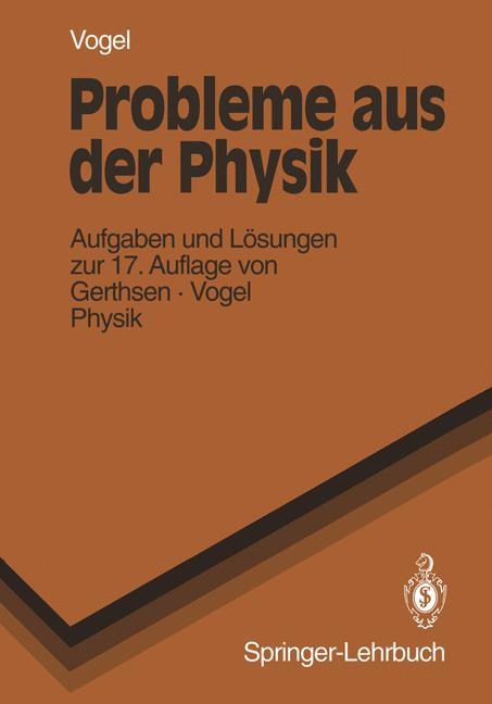 Cover of 'Probleme Aus Der Physik'