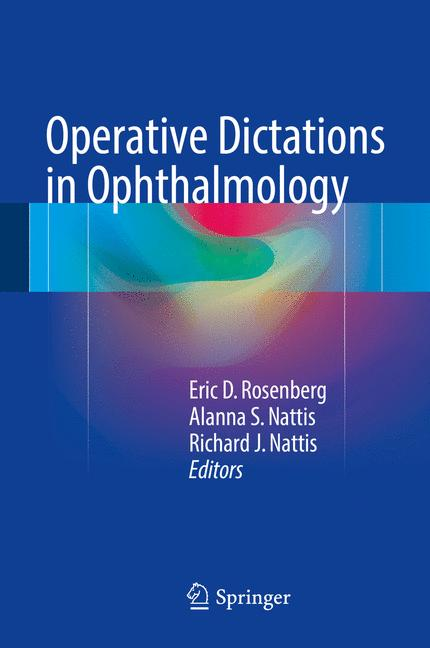 Cover of 'Operative Dictations in Ophthalmology'