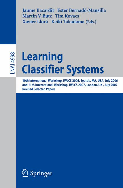 Cover of 'Learning Classifier Systems'