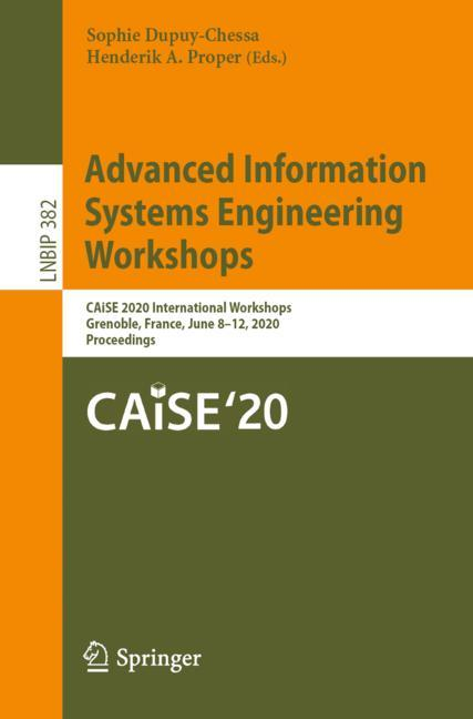 Cover of 'Advanced Information Systems Engineering Workshops'