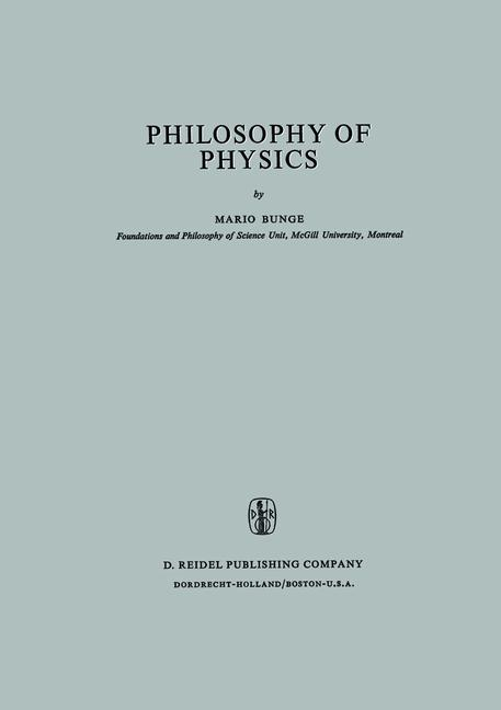 Cover of 'Philosophy of physics'