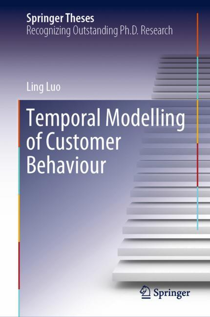 Cover of 'Temporal Modelling of Customer Behaviour'