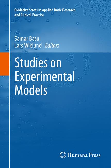 Cover of 'Studies on Experimental Models'