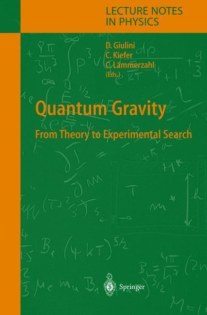Cover of 'Quantum Gravity'