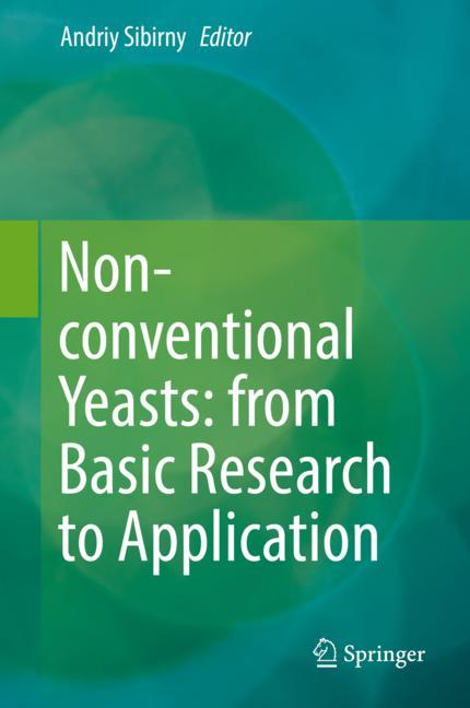 Cover of 'Non-conventional Yeasts: from Basic Research to Application'