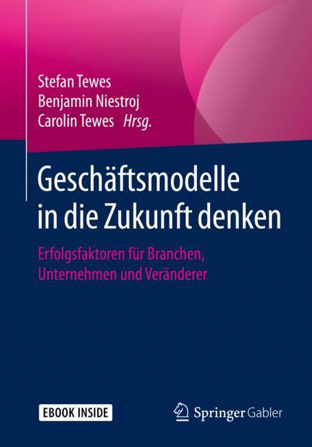 Cover of 'Geschäftsmodelle in die Zukunft denken'