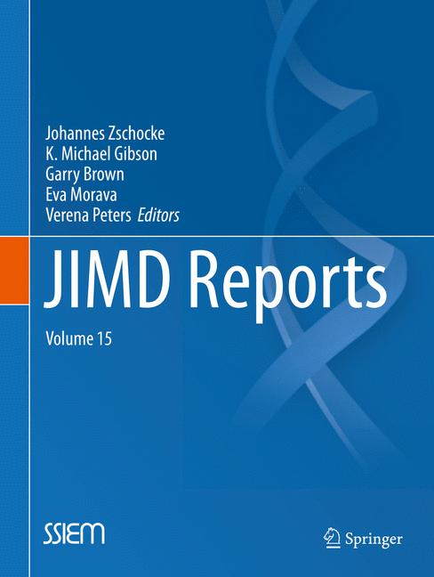 Cover of 'JIMD Reports, Volume 15'
