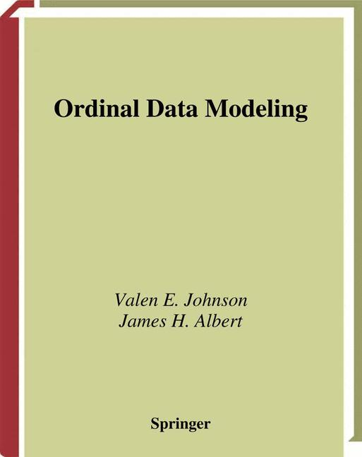 Cover of 'Ordinal Data Modeling'
