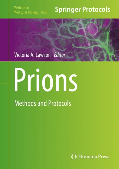 Cover of 'Prions'