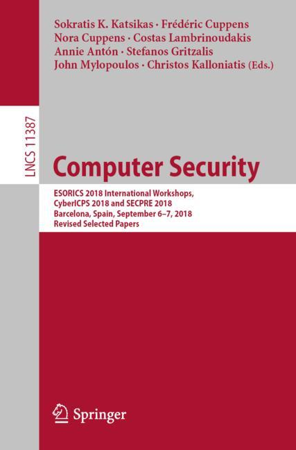 Cover of 'Computer Security'