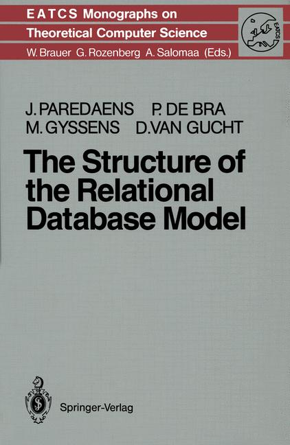 Cover of 'The Structure of the Relational Database Model'