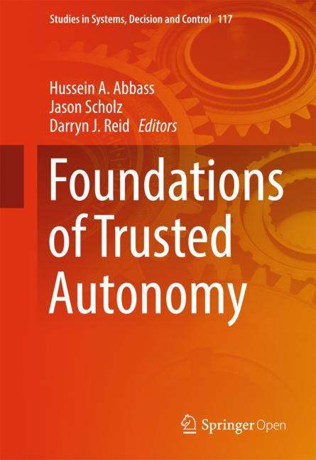 Cover of 'Foundations of Trusted Autonomy'
