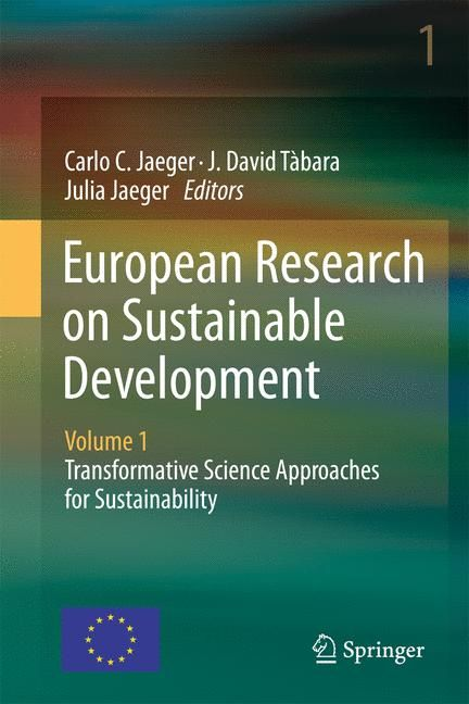Cover of 'European Research on Sustainable Development : Volume 1: Transformative Science Approaches for Sustainability'