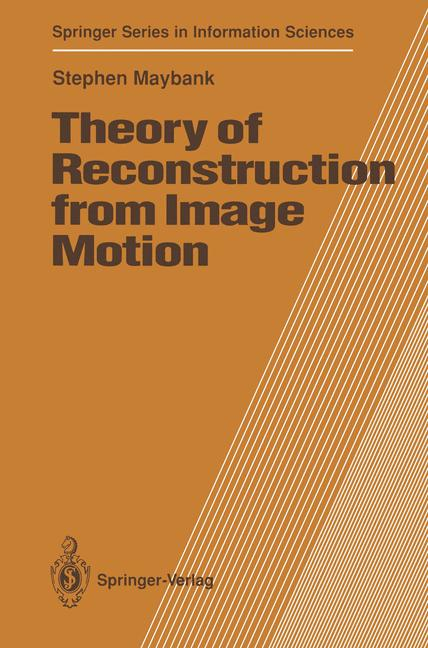 Cover of 'Theory of Reconstruction from Image Motion'