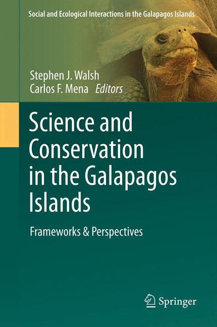 Cover of 'Science and conservation in the Galapagos Islands'