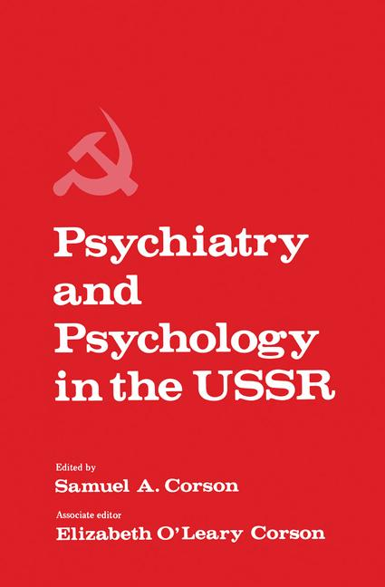 Cover of 'Psychiatry and Psychology in the USSR'