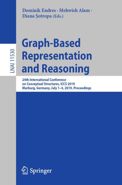 Cover of 'Graph-Based Representation and Reasoning'