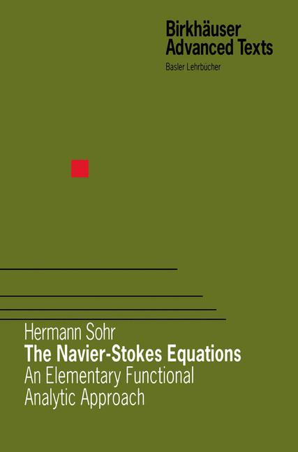 Cover of 'The Navier-Stokes Equations'