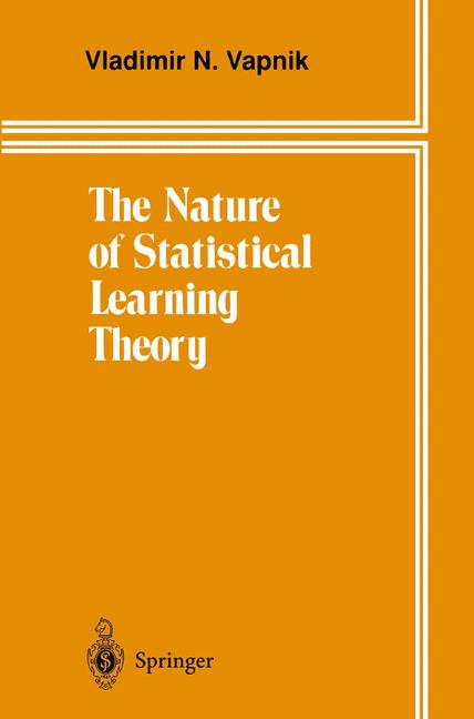 Cover of 'The Nature of Statistical Learning Theory'