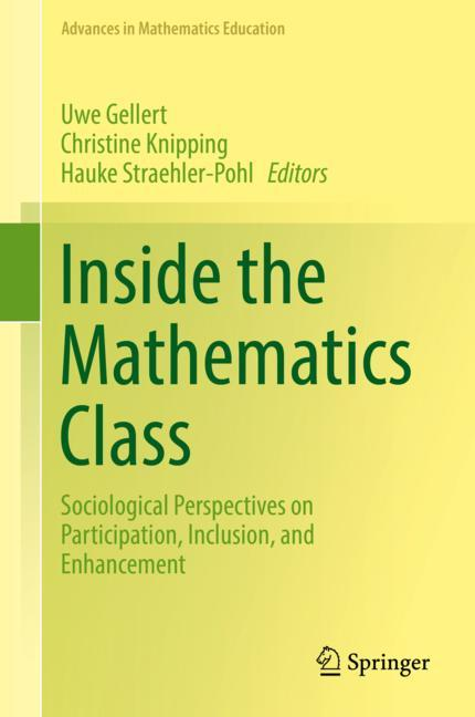 Cover of 'Inside the Mathematics Class'